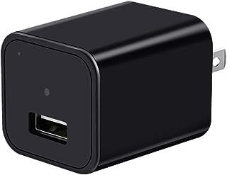 隠しカメラ 充電器型 ACアダプター 小型カメラ 1080P 高画質 長時間録画 動体検知 繰り返し録画 携帯充電 防犯監視 日本語説明書 LXMIMI