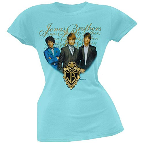 Jonas Brothers - Gold Foil Girls Youth T-Shirt - Small