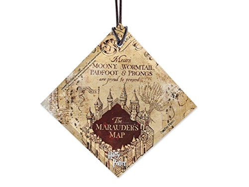 Trend Setters Harry Potter Marauders Map I Solemnly Swear Starfire Prints Hanging Glass Decor