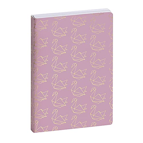 Exacompta Work and After Origami 15010121E - Agenda 1 día por página, 10 x 15 cm, color rosa