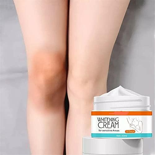 Crema blanqueadora para pieles oscuras, Crema correctora de manchas oscuras, Blanqueamiento de axilas Iluminador relámpago debajo del brazo (PC 1)
