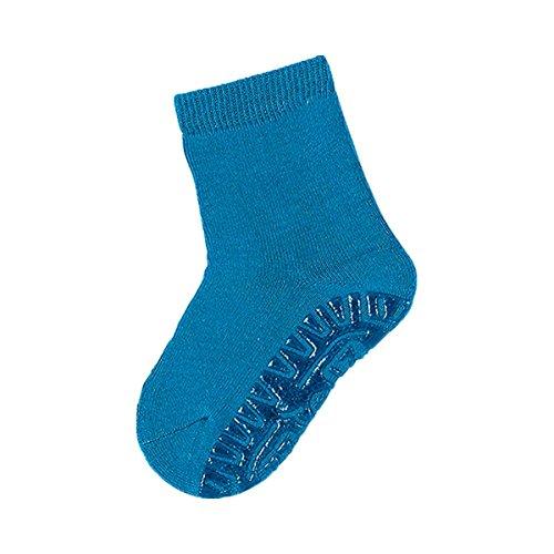 STERNTALER Les chaussettes antidérapantes unies chaussettes bébé chaussettes hautes, taille 24, bleu