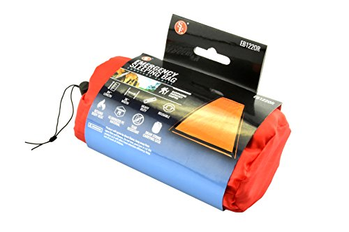 SE EB122OR Survivor Series Emergency Sleeping Bag Kit, Orange