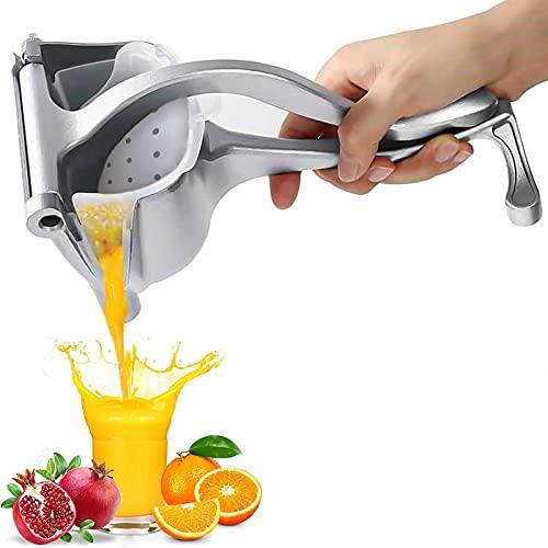 VNUWFM Manual Juicer Multifunctional Citrus Squeezer Household Detachable Fruit Juicer V-Shaped Spout Stable Base for Citrus Lemon Pomegranate