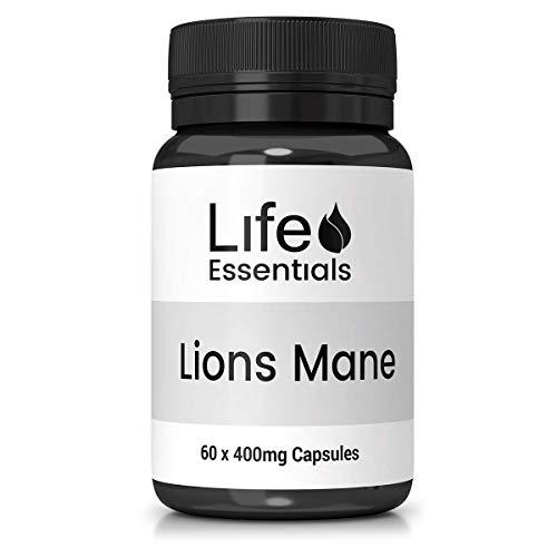 Lions Mane Mushroom Capsule- 400mg Life Essentials