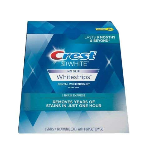 Crest 3D White No Slip Whitestrips Dental...
