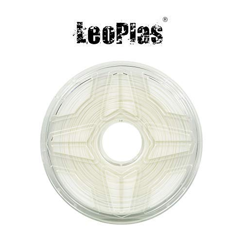 LeoPlas New Store USA Spain China Warehouse Global Shipping 1.75mm White Nylon PA Filament 2 Colors 1Kg 2.2 Pounds FDM 3D Printer Pen Supplies Plastic Printing Material Polyamide
