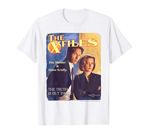 The X-Files The Truth Is Out There Retro Poster T-Shirt