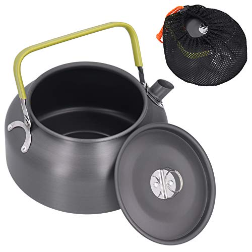 Camping Kettle Home Decoration Verbrühungsfreier Wassertopf 7.1x5.9in Picknicks für Partys Home Camping