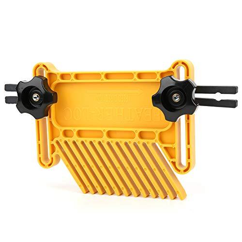Tablero de plumas para carpintería, máquina de grabado giratoria para carpintería, evita que el tablero se caiga, duradero de usar, para sierra de mesa/sierra de cinta/máquina de