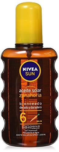 Nivea Spray Aceite Solar FP 6-200 ml