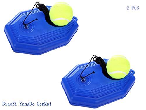 Base de Tenis Entrenador de Pelota de Tenis, Autoaprendizaje Tenis de Entrenamiento Auto Práctica con Pelota de Tenis