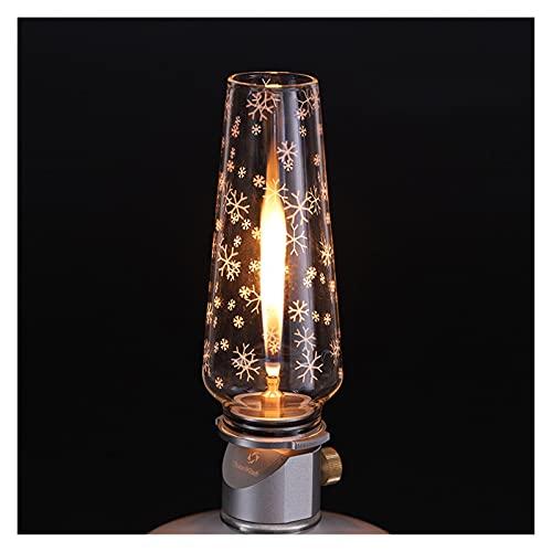 YINZHI Mil Vientos Lámpara Nocturne Gas Linterna Camping Lámpara de Camping Portátil Lámpara de Gas Tienda Noche Luces (Color : TW2009)
