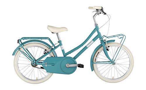 Alpina Bike Olandesina 20', Bicicletta Unisex Bambini, Turchese, 1v