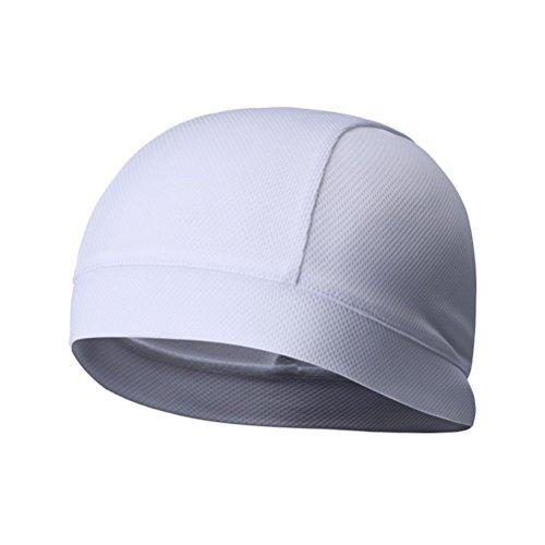 WINOMO 2Pcs Skull Cap Quick Dry Sport Sweat Beanie Radfahren Caps Stirnband Schweißband - 2