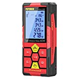 POPOMAN Laser Measure 196Ft Lithium Battery with USB Charging, 99 Sets Data Storage