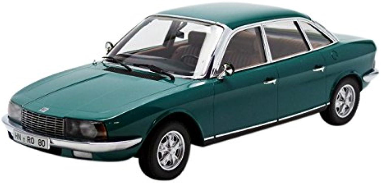 edición limitada Minichamps Minichamps Minichamps 151015405 NSU Ro 80 1972 Escala 1 18 verde  descuento de ventas