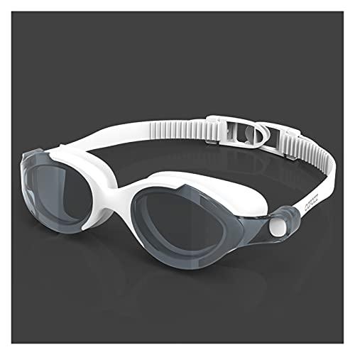 WANGYA Gafas de natación Profesional HD Gafas de natación Doble Anti-Niebla Ajustable Gafas de natación Silicona Gafas de Vista Grande para Hombres Mujeres Gafas de natación Profesional