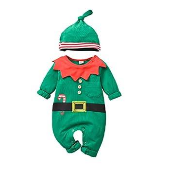 infant elf pajamas