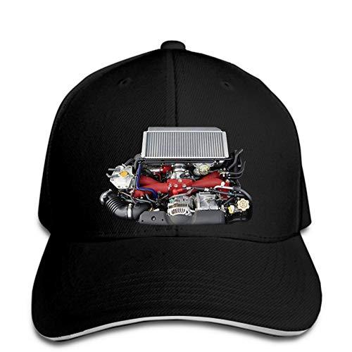 N/A Baseball Cap JDM Turbomotor Motor Ersatzhalterung Hysteresen schwarzer Hystereseneinstellbarer Casual Hip Hop lustig im Freien Schirmmütze
