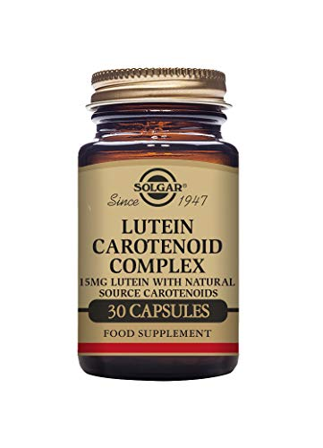Solgar Lutein Carotenoid Complex Vegetable Capsules - Pack of 30