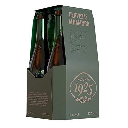Alhambra - Reserva 1925 Cerveza Dorada Lager, 5.4% Volumen de Alcohol -...