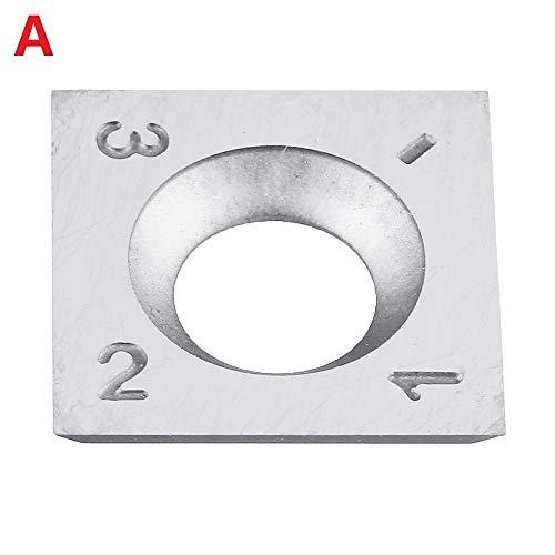 NON-BRAND WNJ-TOOL, Hout Carbide Insert Milling Cutter Torx Schroeven Voor Hout Draaien Gereedschap Houtbewerking HT2428-2434+