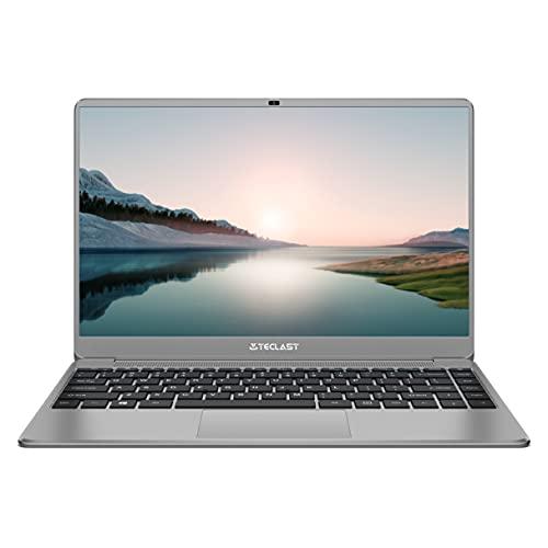TECLAST F7Plus3 PC Portatile 14 Pollici Laptop 8GB RAM 256GB SSD Notebook(1TB Espandibili), 2.6GHz Intel Gemini Lake N4120, Windows 10 UHD Graphics 600, 2*USB3.0+HDMI+5G WiFi+Argento