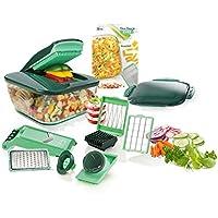 Genius A27060 Nicer Dicer Chef - Utensilio para cortar alimentos (acero inoxidable, plástico, 3300 ml)