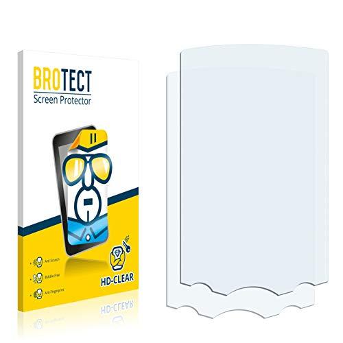 BROTECT Schutzfolie kompatibel mit Garmin GPSMAP 60CS (2 Stück) klare Bildschirmschutz-Folie