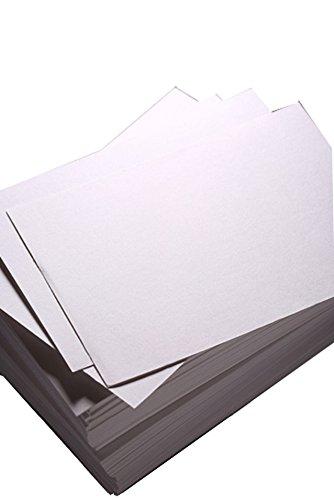 House of Karte & Papier GSM Tonpapier White (Pack of 100 Sheets)