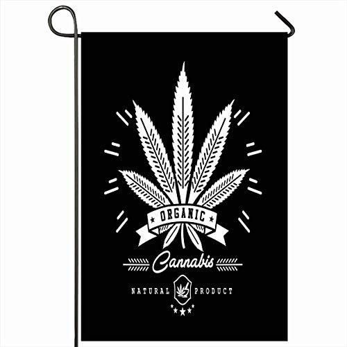 Banderas para jardín al aire libre 12.5 'x18' Pulgada Ilegal Verde Aceite...