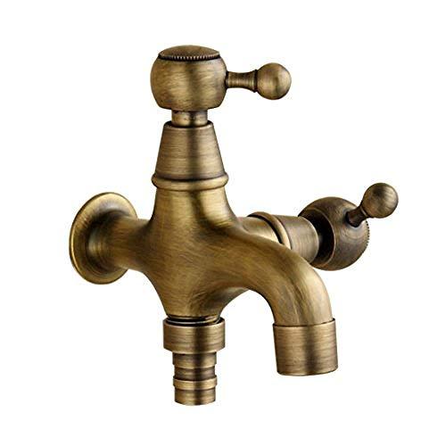 Wischmop für Waschmaschine, Antik-Bronze, europäischer Stil, 3-Wege-Pool (Farbe: A), A