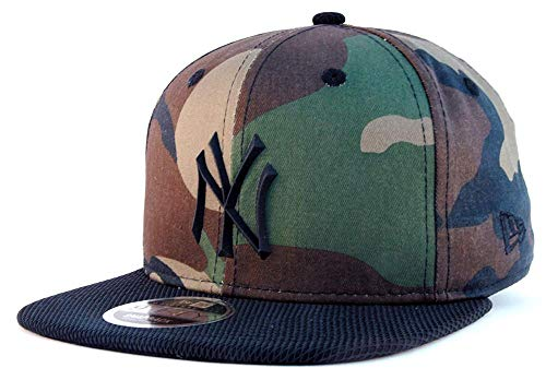 A NEW ERA NY Yankees Rubber Prime Fit 9Fifty Cap, Herren M bunt
