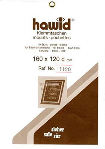 切手マウント 160x120ミリ ハウイド社 黒地マウント