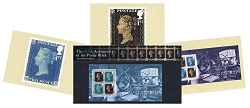Gift Set van 2015 Penny Black Presentation Pack en PHQ Kaarten (Set van 3 Royal Mail Postcards)