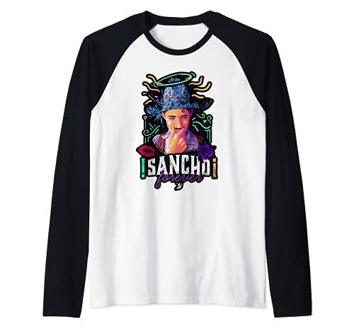 Sancho para siempre Camiseta Manga Raglan