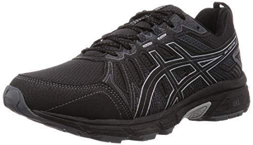 Asics Gel-Venture 7, Zapatillas de Running Hombre, Negro (Black/Sheet Rock 001), 44 EU