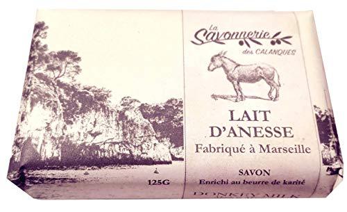 Sapone al latte di asina,arricchito al burro di karité, 125g