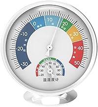 Termómetro Higrómetro Medidor de humedad de la temperatura del mecánico interior Higrómetro del termómetro de la pared para la oficina del hogar de la sauna Digital Termohigrómetro ( Color : A )