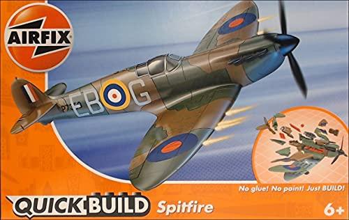 Airfix Quickbuild Supermarine Spitfire Airplane Brick Building Plastic...