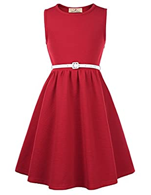 GRACE KARIN Casual Summer Casual Dresses for Girls 11yrs CL0482-3