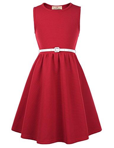 GRACE KARIN Retro Ballkleid Partykleid Abendkleid 10-11 Jahre CL10482-3