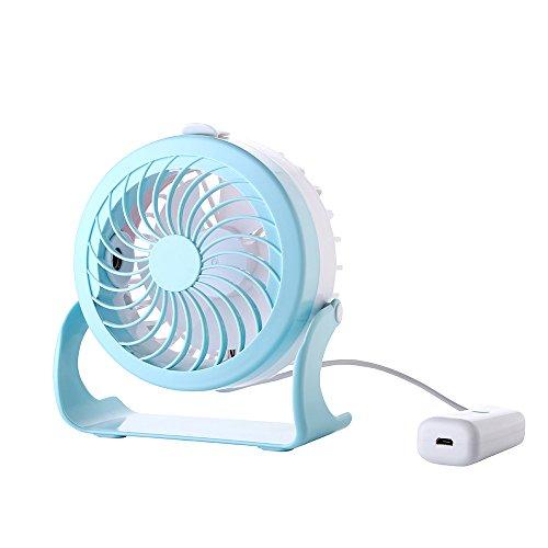 Mini ufficio usb ventilatore di umidificazione creative piccole ventole, blu