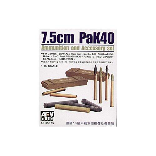Unbekannt AFV-Club 35075 – Accessoire de modélisme Pak 40 Ammo Set