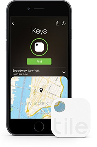 Tile (Gen 2) - Key Finder. Phone Finder. Anything Finder - 1 Pack (Discontinued by Manufacturer)