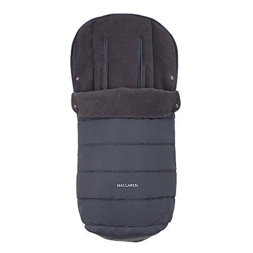 Maclaren Saco universal, accesorio adecuado para clima frío, forrado con lana polar suave que agrega acolchado adicional al asiento, se adapta a la mayoría de las marcas