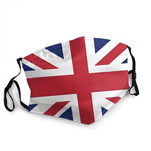 Fashion Washable Reusable Mouth Mask UK Flag Warm Ski Cycling Safety Face Mask