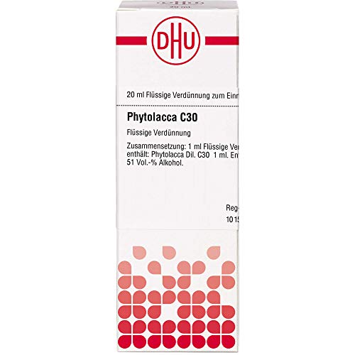 DHU Phytolacca C30 Dilution, 20 ml Lösung