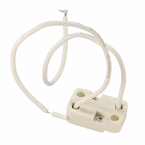 MASUNN Mr16/Gu 5.3 Zoccolo Lampadina LED Lampada Alogena Porta Luce Connettore di Filo Ceramico
